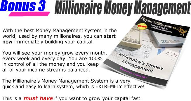 Bonus 3 - Millionaire Money Management