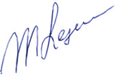 Handtekening Michel Lejeune